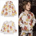 ins* newest 2017 baby boys girls 100% terry cotton sweat shirts hooded kids spring autumn top full lion printed fashion 1-6Y