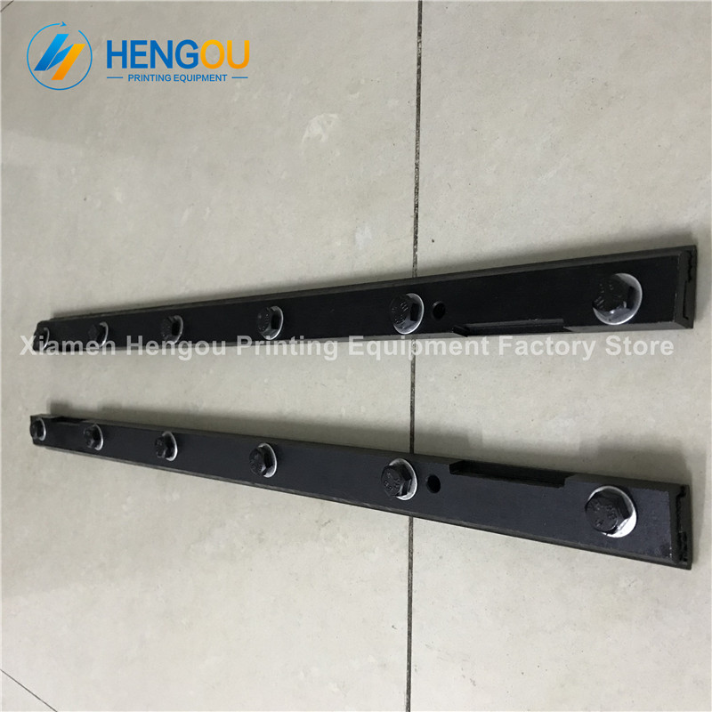1 Pairs Heidelberg parts 69.006.002F Heidelberg GTO52 blanket bar, plate clamp 6 bolts 10 piece heidelberg gto52 parts gripper bar torsion for gto52 89 014 009