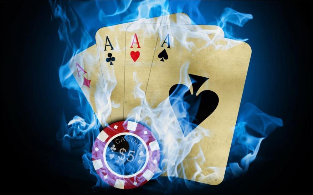 2017 Акция высокого качества карты фишки для покера пожарный Ace настенные росписи украшения дома гостиная печатный плакат холст