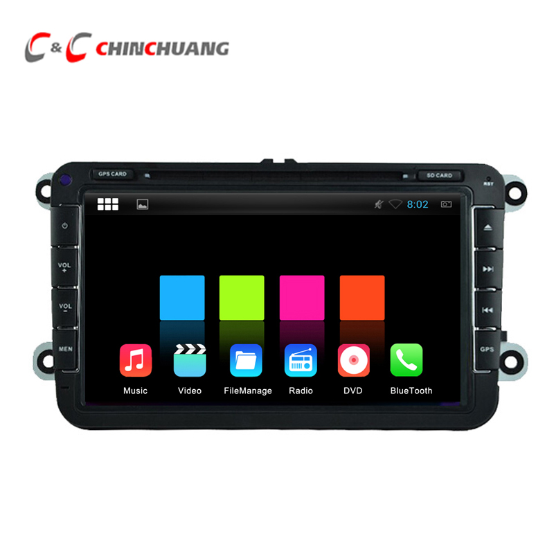 Quad Core HD 1024X600 Android 5.1.1 Car DVD Player for Volkswagen Magotan with Radio GPS Navigation, Support Mirror Link SWC