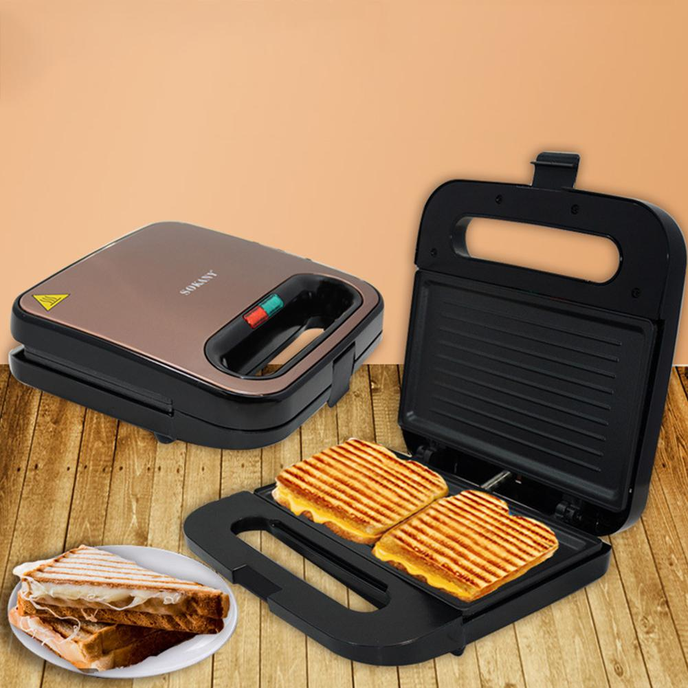 Adoolla Home Stainless Bread Toaster Automonile Toast Sandwich For Breakfeast