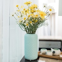 Modern Tabletop Flower Vases For Decoration Ceramic A Vase For Flower Pot Water Plant Vase Home Decor Figurines Miniatures Craft