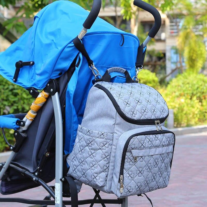 Realistisch Große Kapazität Mama Mutterschaft Tasche Windel Windel Tasche Bolsa Maternida Gedruckt Bebe Tasche Reise Rucksack Desiger Pflege Baby Pflege Wickeltaschen Babypflege