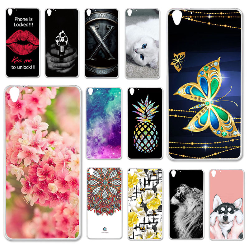 Phone Cases For HTC 728 HTC Desire 728 728G Case Silicone Cover For HTC Desire 728 Dual Sim D728T D728W Soft TPU Cover Fundas image