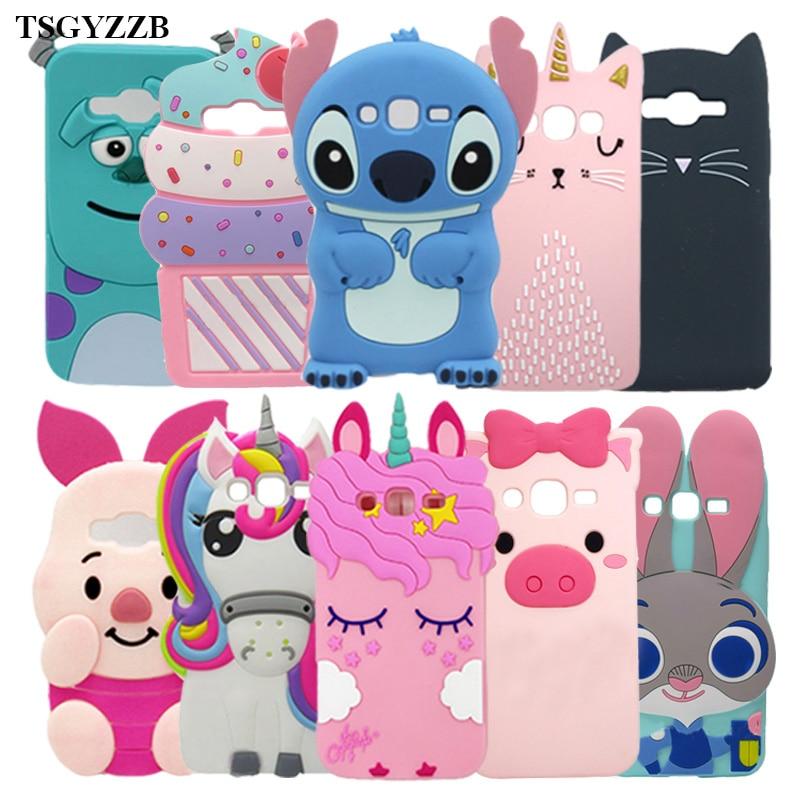 Galleria fotografica 3D Alice Cat Unicorn Phone Silicone Soft Case Cover For Samsung Galaxy Grand Duos i9082 Grand Neo i9060 i9062 Plus i9060i Cases