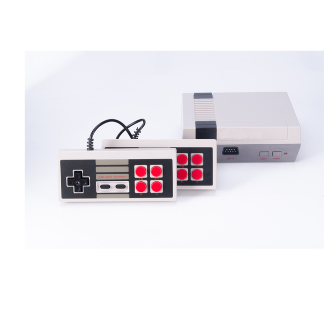 Mini TV Handheld Family Recreation Video Game Console AV Port Retro Built-in 500/620 Classic Games Dual Gamepad Gaming Player