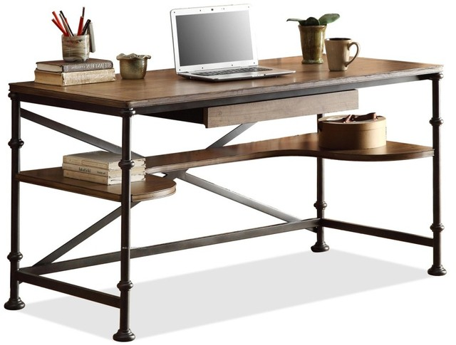 american country wrought iron vintage desk. High-quality Wood, Wrought Iron Vintage American Country To Do The Old Antique Desk A