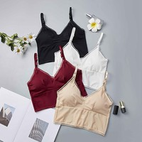 Women Camisole Slim Tube Top Sexy Vest Camisole Crop Top Female Sexy Lingerie Camisoles