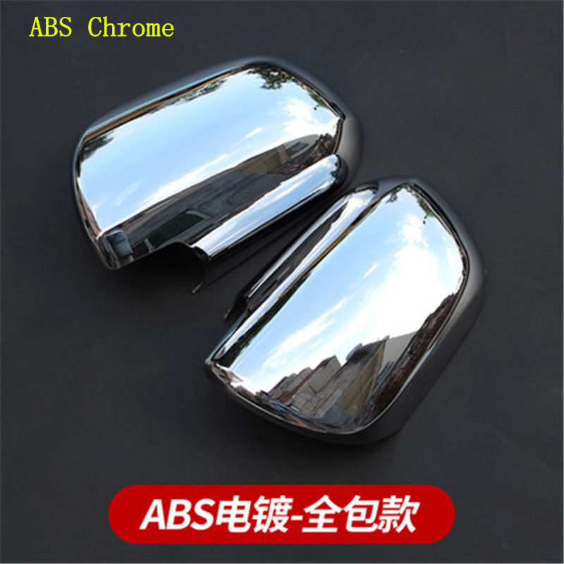 Car accessories car ABS Chrome Rearview mirror cover Trim/Rearview mirror Decoration for Toyota Sienna 2012-2018 Car styling