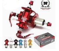 Novatec D041SB/D042SB MTB disc brake Hub 24H/28H AL7075 Cassette Body 4 Bearing Mountain Bicycle Hub/ 9speed 10 speed bike hub