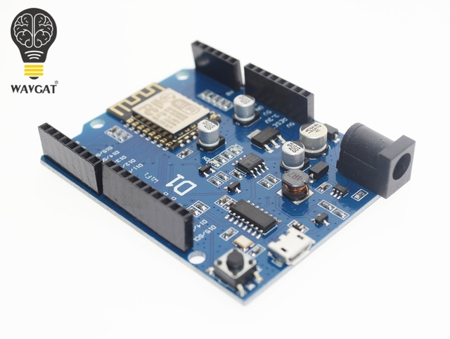 Wavgat Smart Electronics ESP-12E wavgat D1 Wi-Fi uno основе ESP8266 щит для arduino совместимый