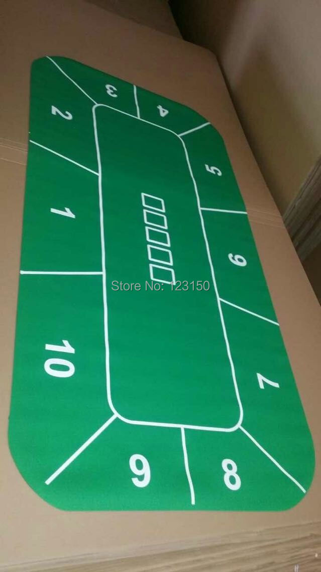 ZB-392  Green Rubber Layout, 240*120CM, Texas Holdem GameZB-392  Green Rubber Layout, 240*120CM, Texas Holdem Game