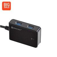 Super Speed 4 Ports USB 3 0 HUB External USB Hub Extended Splitter Support Windows 10