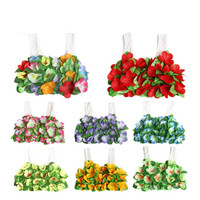 Children Girls Hawaii Flower Bra Lei Hula Bra Dance Performance Party Costumes Tropical Party Christmas Halloween Navidad