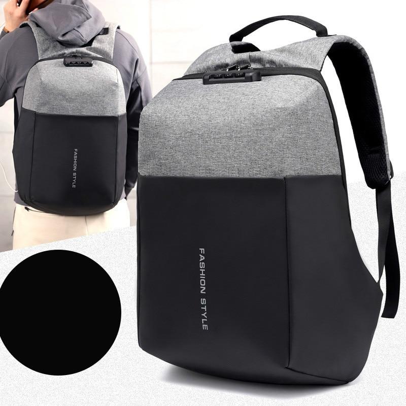 Nouveau sac à dos de voyage Design Anti-vol haute capacité pour pochette d'ordinateur de 17 pouces sac de voyage d'affaires de grande capacité