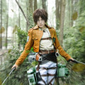 Eren Jaeger cosplay costumes Japanese anime Attack on Titan clothing Masquerade/Mardi Gras/Carnival costumes
