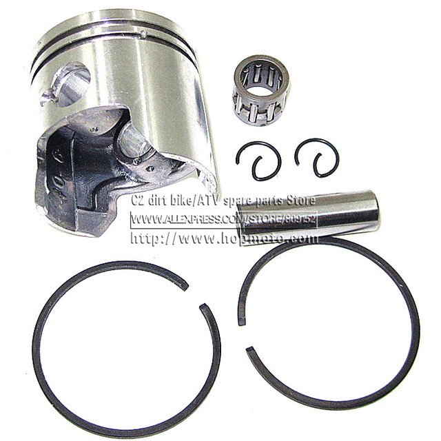 44CM Engine Piston 44 6 For 2 Stroke 49cc Pocket Bike With Ring