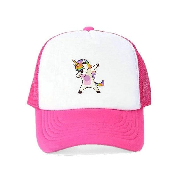 1693db1e7c882 Primavera Verano unicornio Arco Iris Snapback gorras Multi-color Pony cubo sombreros  para hombre de