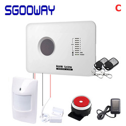 Sgooway wireless motion sensor gsm sicherheit wireless smart sicherheit alarm system mit Android & ios APP