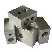 3d drucker Aluminium Wärme Block M6 Spezialisiert für MK7 MK8 Makerbot Extruder