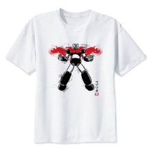 mazinger z T-Shirt Workout Crossfit T Shirt Fitness Casual Shirts Short Sleeves T-Shirts T1897
