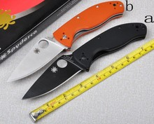 High quality knives  C122 58HRC 8Cr13mov folding knife outdoor Pocket knife camping survival gift Tactical knife EDC tools