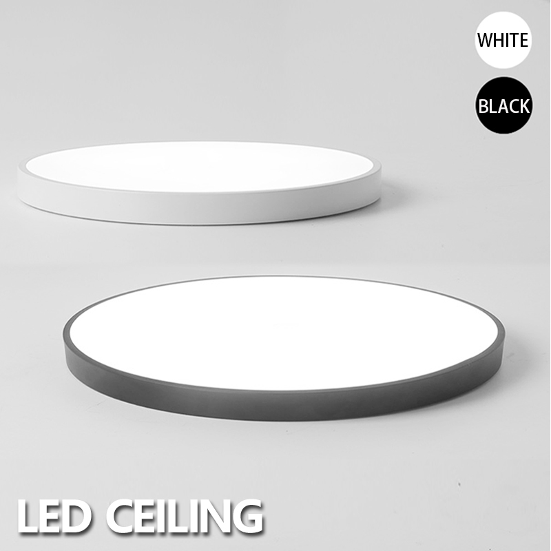 Hawboirry Led Ceiling Light Modern Lamp Living Room Lighting Fixture Bedroom Kitchen Surface Mount Flush Panel Remote Control Back To Search Resultslights & Lighting