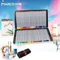 Профессиональный художественный карандаш Marco Renoir 24/36/48/72 цветов  масляные и цветные карандаши 7100  школьные товары для рукоделия  2019