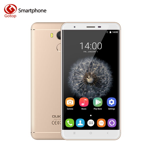 Oukitel U15 Pro 5.5 Inch Smartphone Android 6.0 MT6753 Octa Core Mobile Phone 3GB RAM 32GB ROM Fingerprint 4G LTE Cell Phone