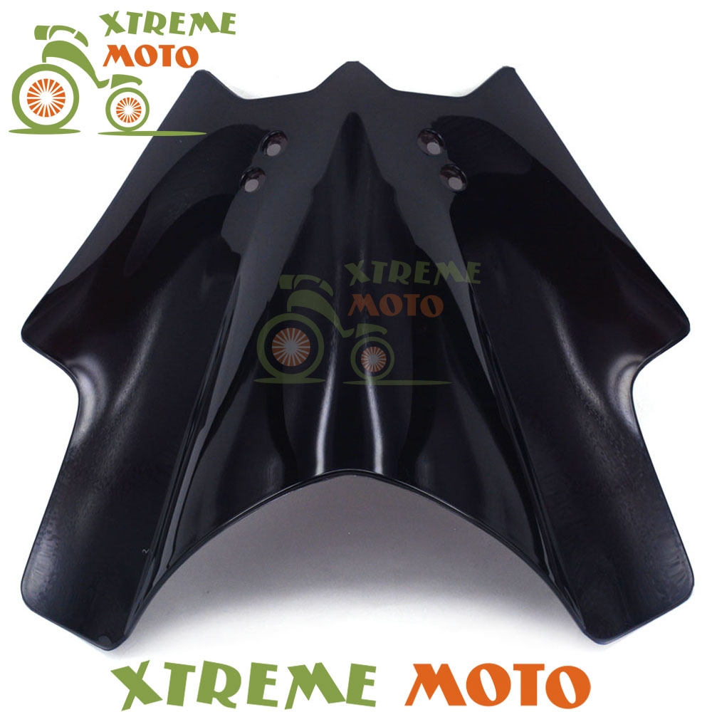 Black Plastic Motorcycle Windscreen Windshield For KTM 125 200 390 Duke Motocross Motorbike Dirt Bike black windscreen windshield for ktm 125 200 390 duke motorcycle motorbike dirt bike free shipping