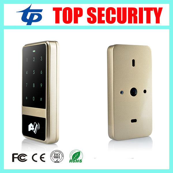 Good quality 125KHZ RFID card access controller smart proximity card door access control reader 8000 user touch keypad reader waterproof touch keypad card reader for rfid access control system card reader with wg26 for home security f1688a