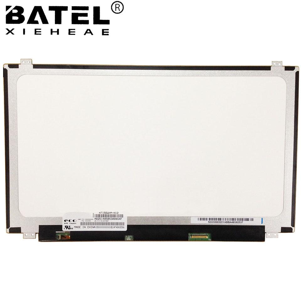 цены на NT156WHM-N12 for Lenovo G50-30 Screen Matrix for Lapotp LCD Screen LED Display 1366x768 HD Glare 30Pin 5D10G74897 Replacement в интернет-магазинах