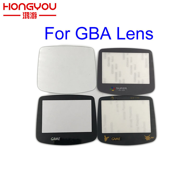 10pcs Plastic/Glass Lens For Nintend Gamboy Advance For Super Famicom Lens For GBA Consoles Screen Lens Protector Cover