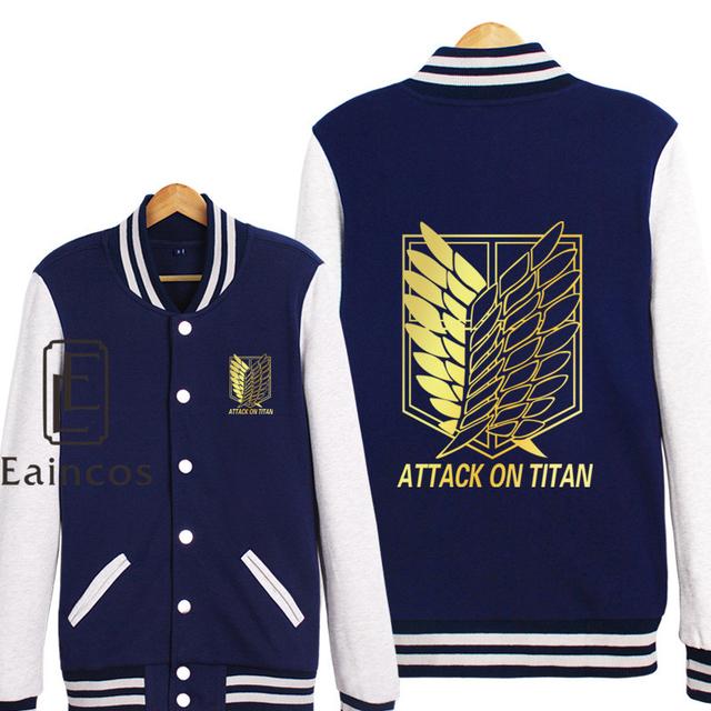 Attack On Titan Baseball Jacket