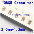 Frete grátis 0805 smd capacitor 33 uf 16 v 336 k 200 pcs