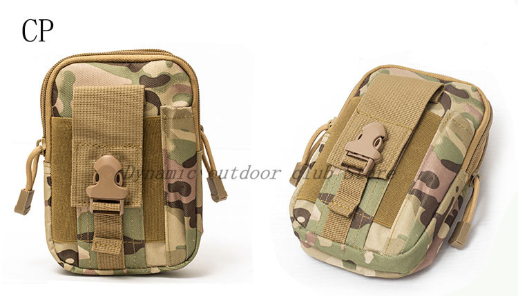 Image 4 - Men Tactical Molle Pouch Belt Waist Pack Bag Small Pocket Military Waist Pack Running Pouch Travel Camping Bags Soft back-in Hunting Gun Accessories from Sports & Entertainment
