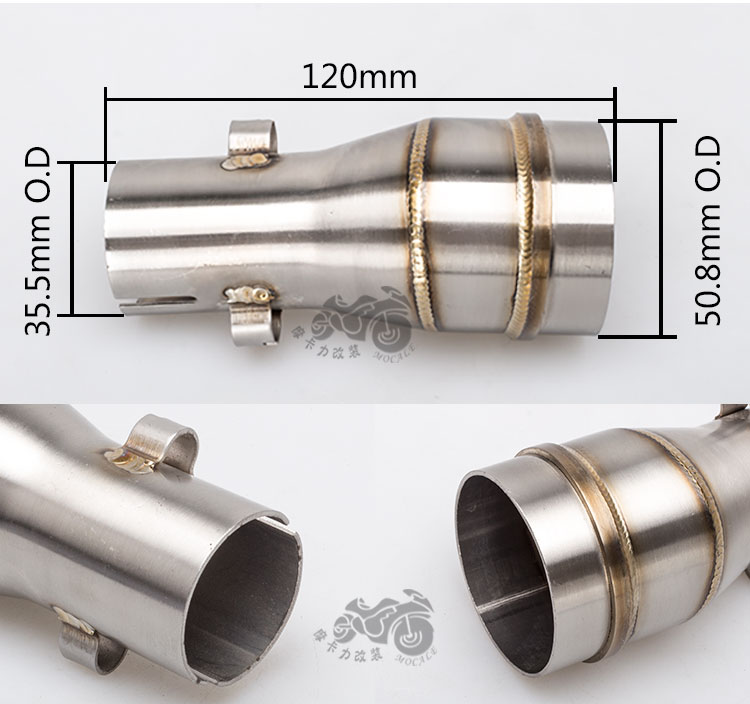 Motorcycle exhaust Pipe Tube Adaptor GP Welding Sleeve Reducer Connector Joining-in Outdoor Tools from Sports u0026 Entertainment on Aliexpress.com | Alibaba ...  sc 1 st  AliExpress.com & Motorcycle exhaust Pipe Tube Adaptor GP Welding Sleeve Reducer ...