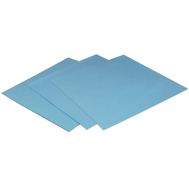 YOUNUON 100x100mm 0.5mm 1mm 1.5mm 2mm 3mm 4mm 5mm tichkess Thermal Pad CPU Heatsink Pad Cooling Conductive Silicone Thermal 2