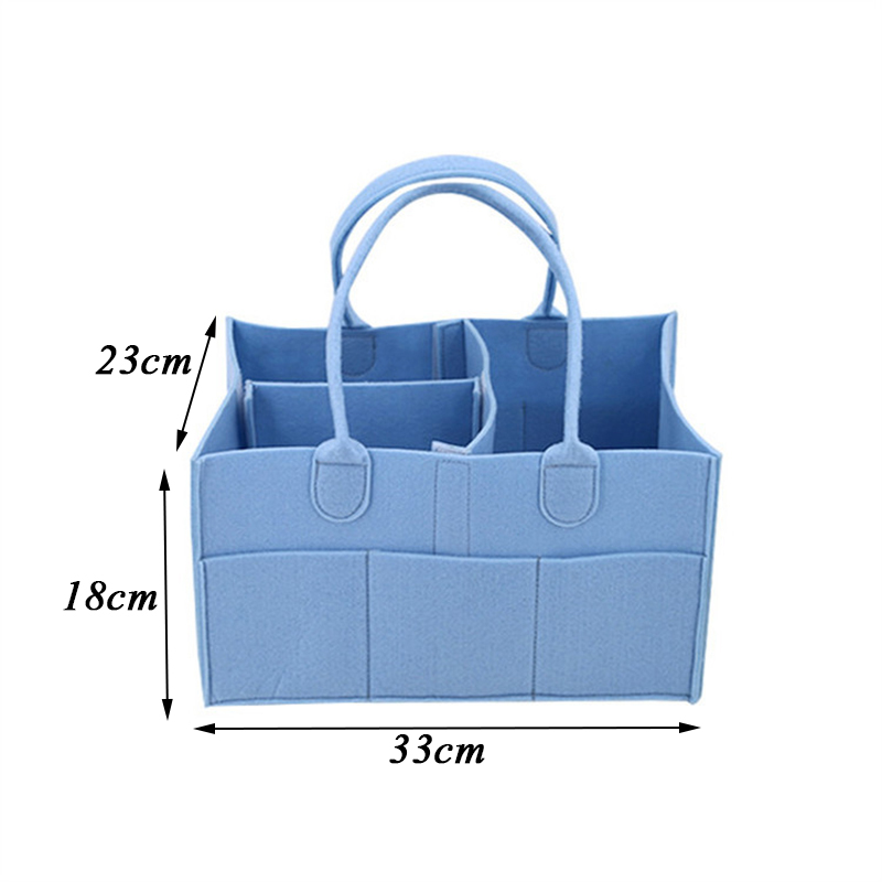 YFGXBHMX Foldable Baby Diaper Caddy Organiser Gift Kid Toys Portable Storage Bag/box for Car Travel Changing Table Organizer