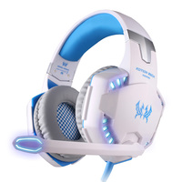 KOTION EACH G2200 Surround Sound Gaming Headsets Stereo Professional Headphone Computer Game USB7 1 Vibration LED