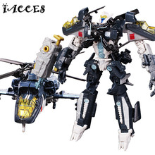 Aircraft Transformation 3 Toys Robots Car VOYAGER Action Figures Classic Toys For Children Classic boy Toy Model Christmas Gift