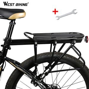 Image 1 - WEST BIKING Bicycle Racks 140 KG Load Luggage Carrier Cargo Aluminum Alloy Rear Rack Cycling Seatpost Bag Holder Stand Bike Rack