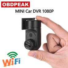 Super Mini Wifi Dash Cam Wireless 1080 P di Visione Notturna di HD Videocamera per auto Registratore di Guida Auto Registratore Smart Dashcam Registrator