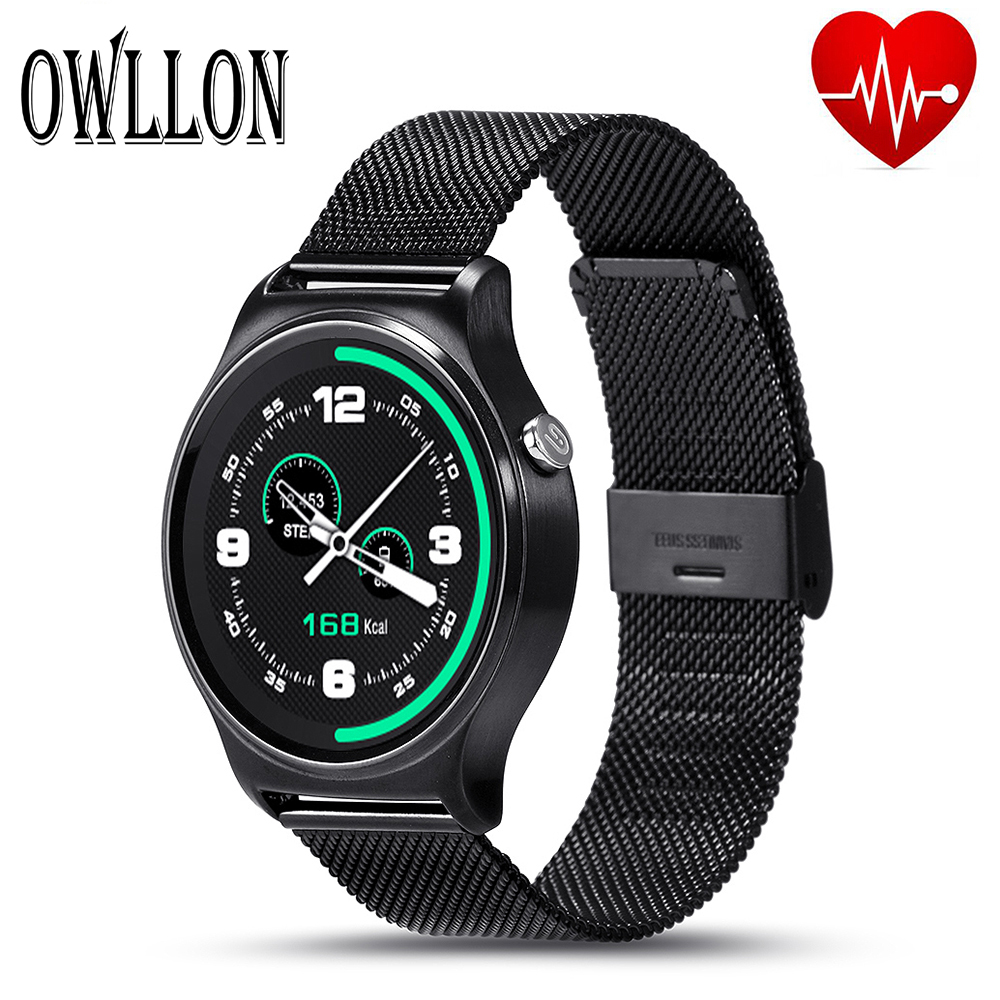 New GW01 Bluetooth Smart Watch IPS Round Screen Life Waterproof Sports smartWatch For apple huawei Android