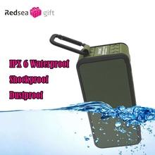 New bicycle Wireless Bluetooth Speaker Waterproof Outdoor Portable speaker IPX 6 sports shockproof  dustproof for mobile phone
