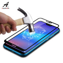 Full Tempered Glass For Huawei Mate 20 P20 Pro Lite P10 Nova 2 Y9 2018 For Honor 10 7A Enjoy 8 7C Plus Screen Protector Film(China)