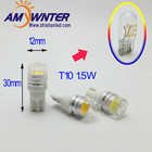 T10 w5w Led 12V 194 LED Bulbs For Cars White Car LED Cars COB 1.5W LED Interior Bulbs Reading Light Car Light Sourse
