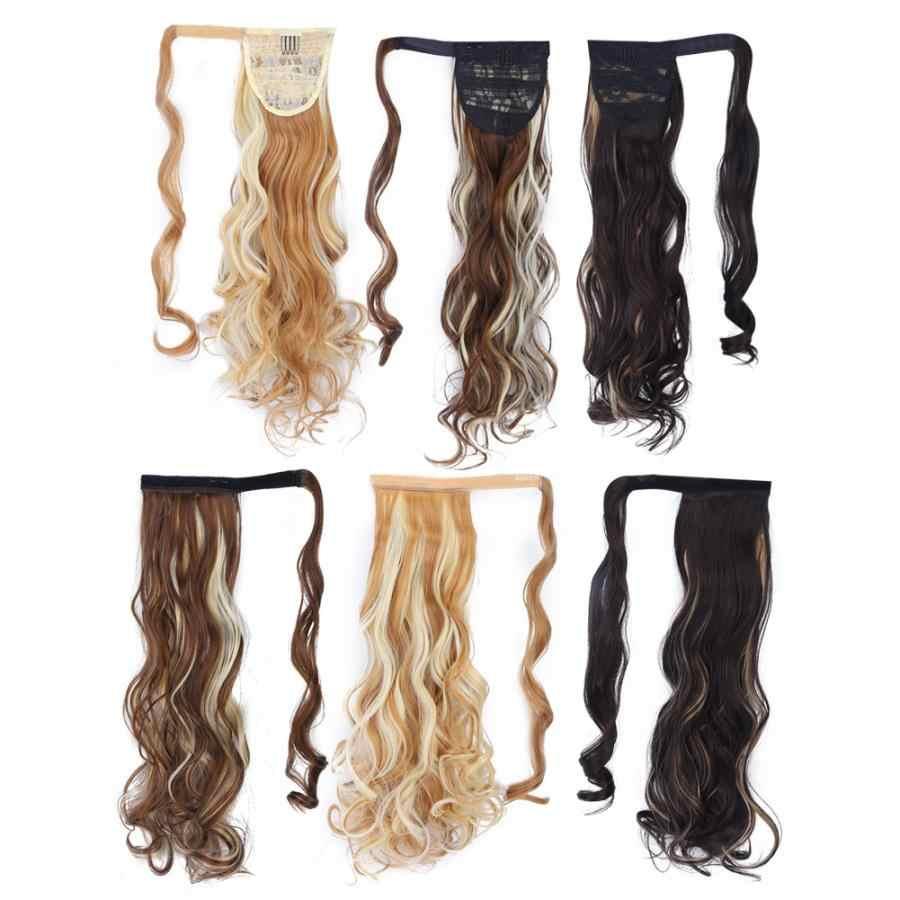 Парик клей длинные нарощенные кудрявые волосы парик бесследный Невидимый Синтетический хвост волос кусок лента для наращивания волос