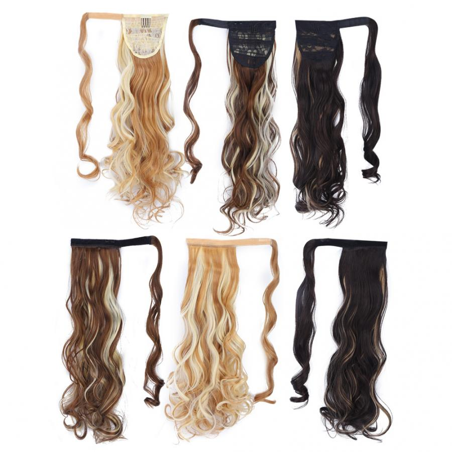 wig glue long curly hair extension