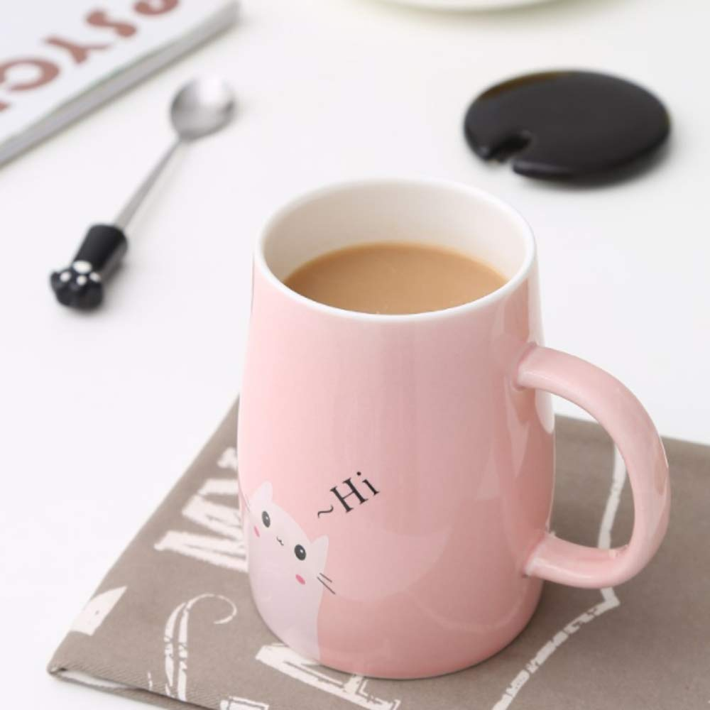 Kitchen Dining Cat Claw Cup Cat Paw Frosted Cup Kids Milk Glass Cups Personality Breakfast Milk Cup Cute Cat Foot Claw Print Mug Men And Women Couples Household Cups Home